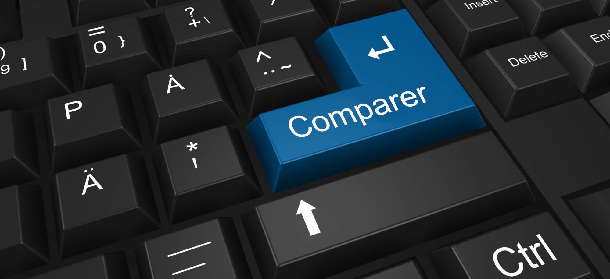 comparer internet