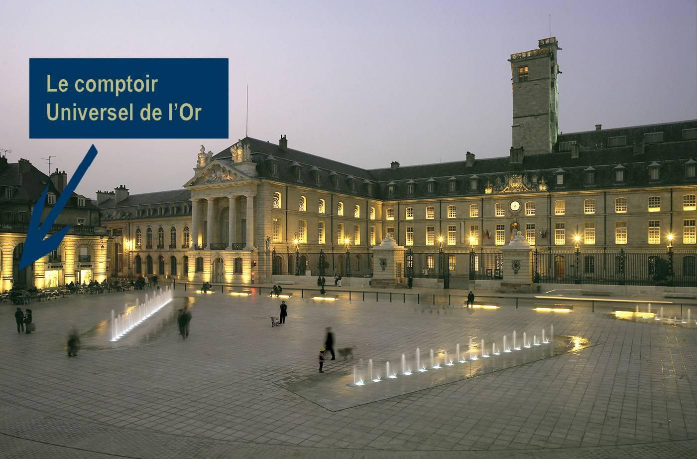 Le Comptoir Universel de l'Or, achat or, vente or, achat argent à Dijon