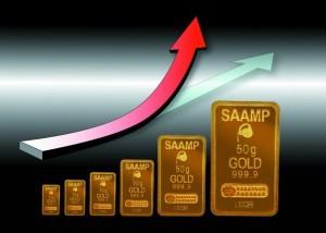 Le cours de l'or s'envole en juillet aout 2016