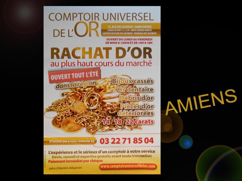 Votre comptoir de rachat d 39 or amiens est il visible de l - Comptoir universel de l or ...