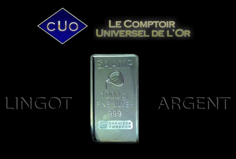 Vente de lingot en argent diversifier ses investissements - Comptoir universel de l or ...