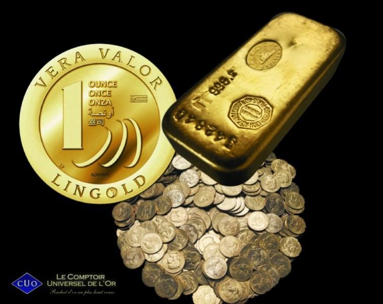Achat or l or dans tous ses tats comptoir universel de - Comptoir universel de l or ...