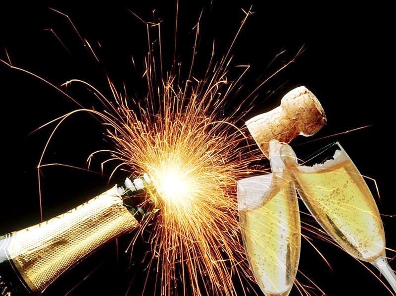 champagne c'est la fete