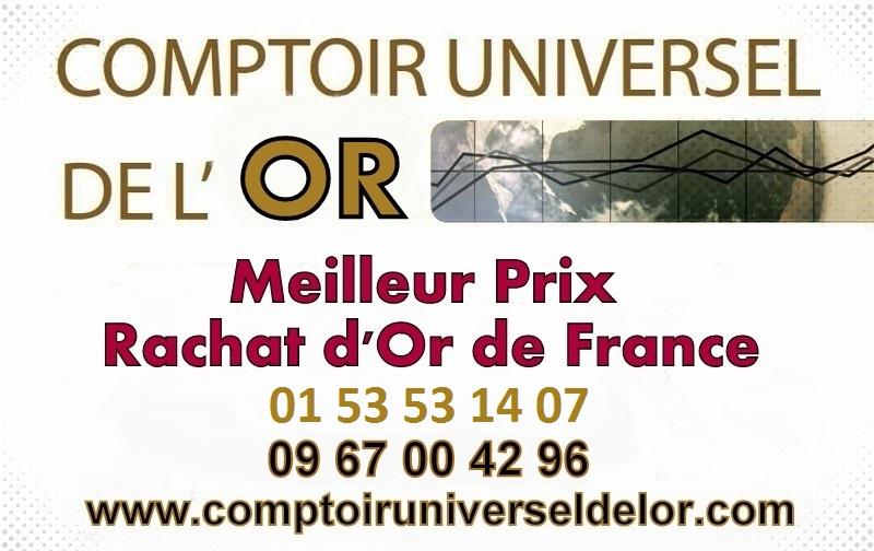 O vendre son or paris comptoir universel de l 39 or - Comptoir des tuileries cours de l or ...