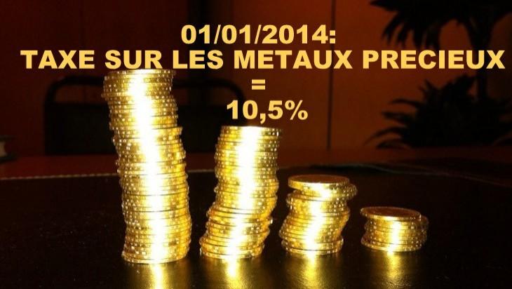 taxe sur l'or france paris