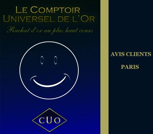 Avis clients paris : quel  rachat d'or ?
