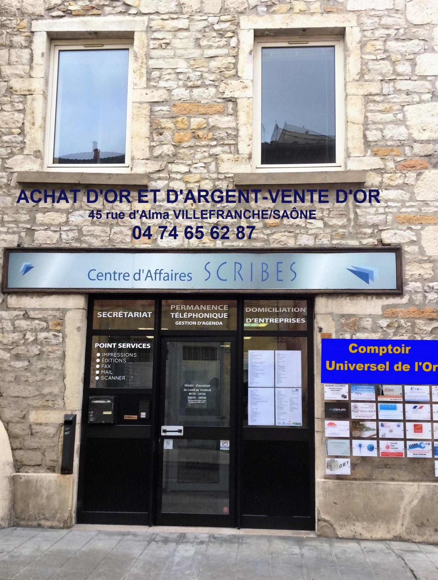 Reglement du jeu concours ouverture du comptoir universel de l or villefranche sur saone - Bureau vallee villefranche sur saone ...