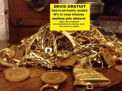 BON PLAN RACHAT OR : Osez comparer avant de vendre votre or à Gap!