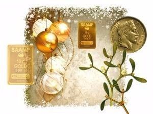 lingotin en or massif 24 carats en cadeau de Noël?