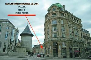 Rachat d'Or et rachat d'argent à Rouen 76 Seine Maritime