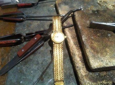 Le prix de l'or de la montre est souvent supérieur au prix de la montre en or elle même par le comptoir d'achat or Rouen