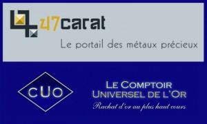 47 Carats portail d'information achat or et argent
