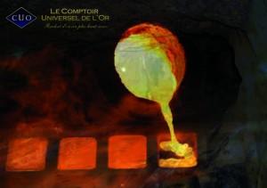 Que devient mon or lorsque je le vends aux agences Amiens, Reims du comptoir universel de l'or?