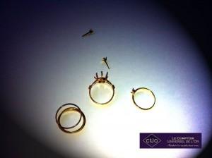 Pourquoi cassez vous les bijoux en or et argent avant leur recyclage?