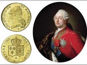 Achat piéces de monnaie en or. Louis XVI