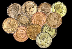 POURQUOI MES PIÈCES D'OR (LOUIS, NAPOLÉONS, COQ, MARIANNE, RÉPUBLIQUES...) N'ONT PAS LA MÊME VALEUR CHEZ UN RACHETEUR D'OR ET EN BOURSE ?