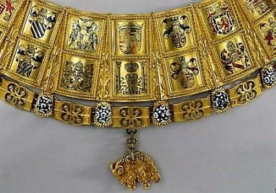 Collier de La toison d'or par le comptoir d'achat or et argent Paris 8