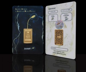 acheter or pur en lingot à paris