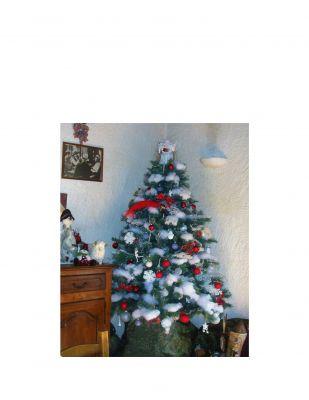 Le sapin de Noël du comptoir d'achat et vente Or Paris