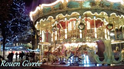 Au marché de Noël du Comptoir Universel de l'Or Rouen